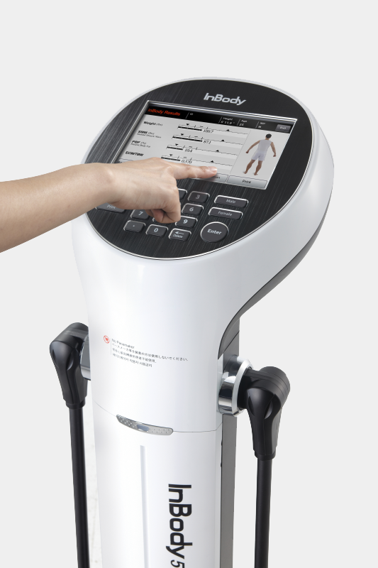 InBody Body Composition Analyzer at Studio79 Toronto